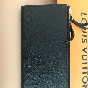 Adele black LV Wallet